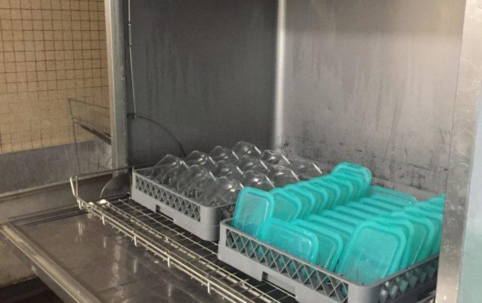 Les stations de nettoyage sont choisies avec soin pour limiter notre consommation d'eau, avec des produits nettoyants écologiques.